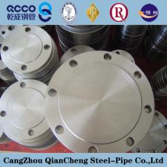 manufacturing jis16k carbon steel blind flange dimension