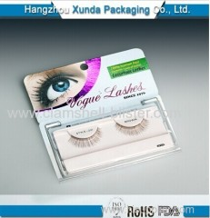 Custom eyelash blister packaging