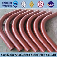 180 degree carbon steel pipe bend