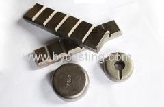 wear parts Chocky bars wear button chocky bar chockblocks for Bucket wear protection