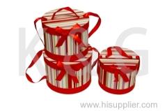 Round Paper Gift Box Set