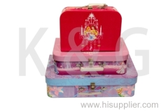 Suitcase Shape Paper Gift Box Set