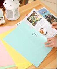 PVC / creative / smile file floder