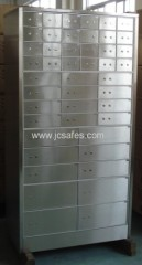 Outer hinged module type Safe Deposit Boxes