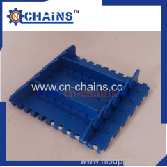 "Flat top conveyor belt with food grade material( 25.4mm) 1""quot;pitch"