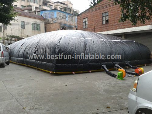Inflatable Cushion for Summer Freerunning