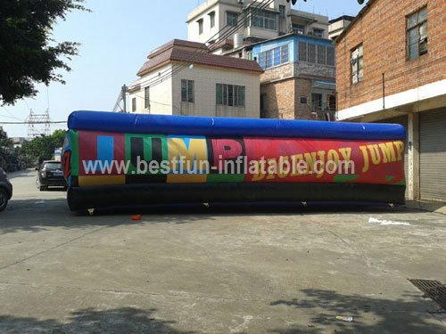 Largest Inflatable Landing Pad