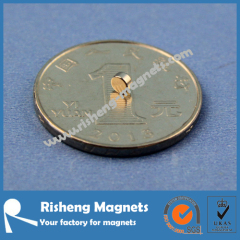 Rare Earth Magnet N35 D3 x 2mm Small Round Magnet
