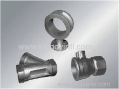 Industrial precision valve fittings and parts