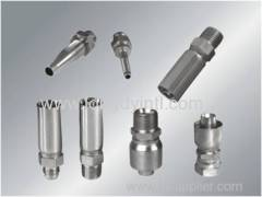 Hydraulic hose fittings and adapters