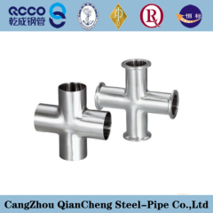 straight cross and reducing cross pipe fitting