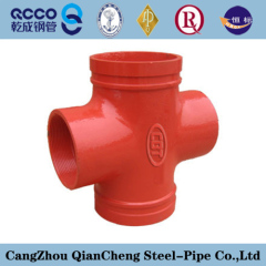 DN 200 SCH40 Pipe Fitting Straight Cross
