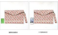 A4 file collect / cloth / flower file folder
