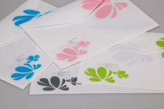 four leaf clover / PP / A4 / file collect / file bag / file folder