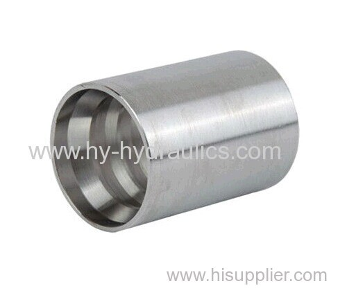 Ferrule for hose fitting with ferrule and sleeve nut