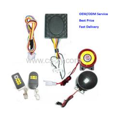 motorcycle remote alarm system