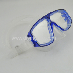 silicon diving mask equipment/adult equipment scuba diving