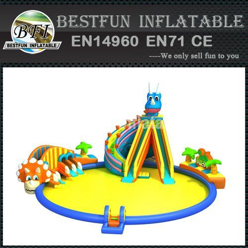 INFLATABLE WATER PARK DINOSAURS