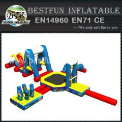 Flottant Outdoor palpitante gonflable Water Park