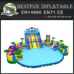 INFLATABLE DOLPHINS WATER PARK