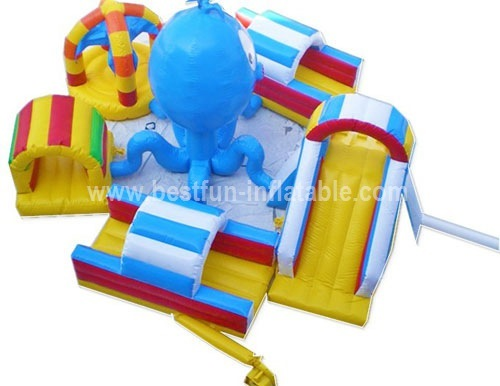 Lake inflatable water park games for kids and adults
