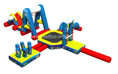 Floating Outdoor Thrilling Inflatable Water Park