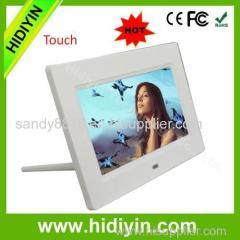7 inch hd sex video mini digital photo frame