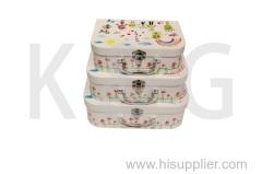 Friends Patterned Suitcase Box Set