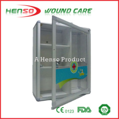 HENSO Strong Material Metal Aluminum First Aid Kit
