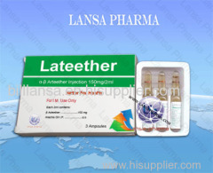 Arteether Injection 150mg / 2ml