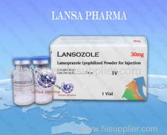Lansoprazole for injection 30mg