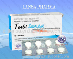 Terbinafine Hydrochloride Tablet 250mg