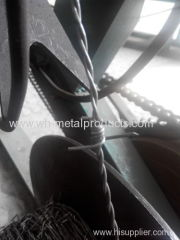 heavily galvanized double strand four points high tensile barbed wire