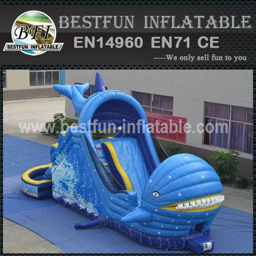 WHALE WATER SLIDE DOUBLE