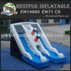 INFLATABLE WATER SLIDE TITANIC