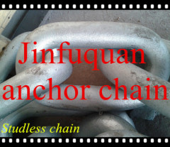 open link/studless anchor chain