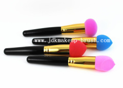 Cosmetic makeup sponge brush