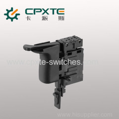 Switches for high rating power tools and garden tools
