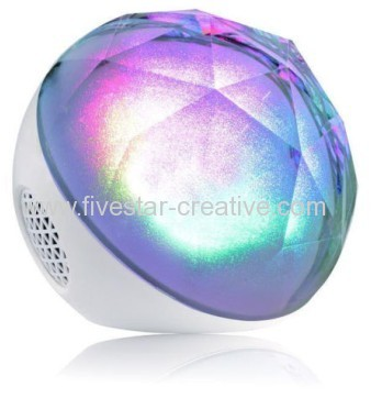 Mini Magic Color Ball Wireless Bluetooth Speaker with RGB Flash Light Best Festival Gift