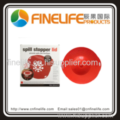 High quality spill stopper lid