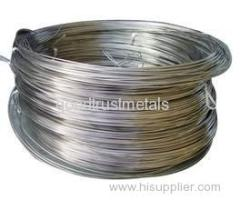 Titanium wire for electronics industry using