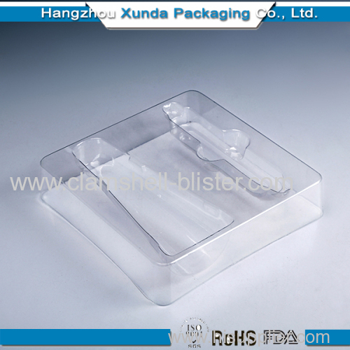 Custom plastic cosmetic tray