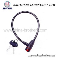 High Quality Anti-Dust Bicycle Wire Lock