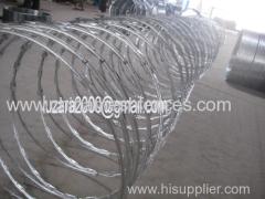 Galvanizado alambre de puas