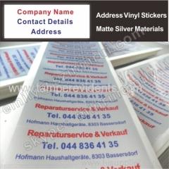 Water Proof Address Label