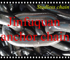 studless link anchor chains