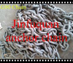 STUDLESS LINK MARINE ANCHOR CHAINS