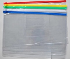 A4 transparent zipper file holder-china manufacturer