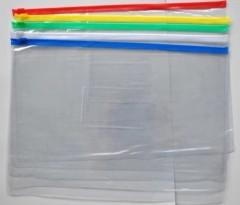 A4 transparent zipper file holder-china manufacturer