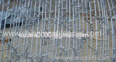 Single Strand Twisted Barbed Wire